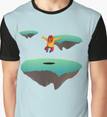 Leaping Lucha Libre Graphic T-Shirt