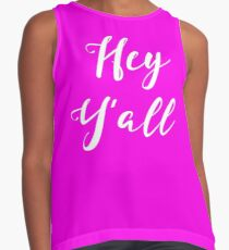 Hey Y'all County Concert Contrast Tank