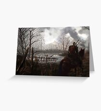 Witch Hunter Raids Greeting Card