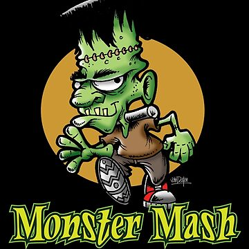 Frankenstein Monster Mash Halloween by BuzzArtGraphics