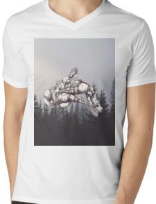 Lost in this World  Mens V-Neck T-Shirt