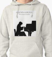 Glenn Gould, the pianist, piano Sudadera con capucha