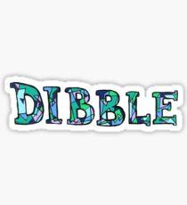 Dibble Sticker
