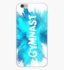 Gymnast - Blue Explosion  iPhone Case