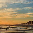 A Long Beach, NY Sky by AnneDB