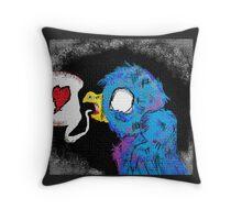 Love Bird (Version 1) Throw Pillow
