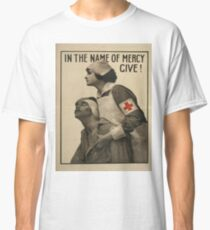 Vintage poster - Red Cross Classic T-Shirt
