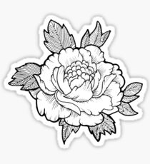 Japanese flower Sticker