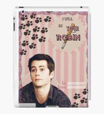 My Teenwolfed Valentine[I'll be your Robin] iPad Case/Skin
