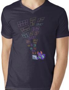 Flying webcomics Mens V-Neck T-Shirt