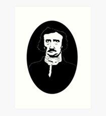 Edgar Allen Poe Art Print