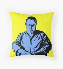 Christopher Hitchens Throw Pillow