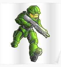 master chief (halo) Poster