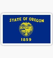 Oregon Flag Sticker