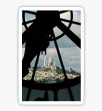 Sacre Couer thru the eyes of Musee D'Orsay Sticker