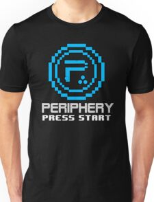 Periphery 8-bit Blue/Select Difficulty Unisex T-Shirt
