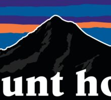 mt hood pata Sticker
