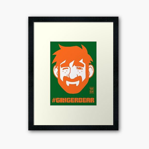 ADAM LIKES GINGER Framed Art Print