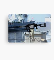 Machine gun Kalashnikov Canvas Print