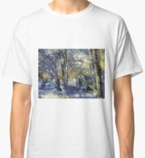 Outhouse in Snow Classic T-Shirt