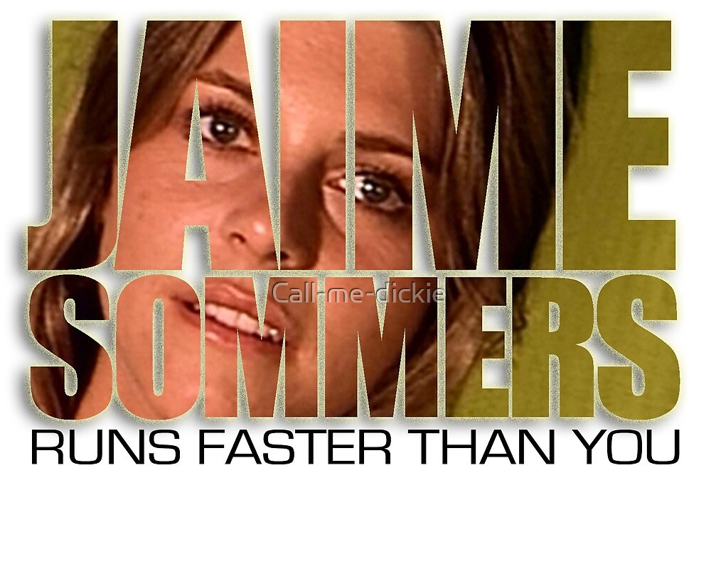 Bionic Woman - Jaime runs faster than you! by Call-me-dickie