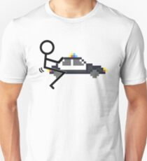 Fuck Police cool funny police car fucking icon T-Shirt