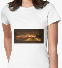 Solar warp 1 Women's Fitted T-Shirt
