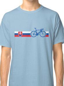 Bike Stripes Slovakia Classic T-Shirt