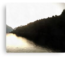 Shores Of Darkness Canvas Print