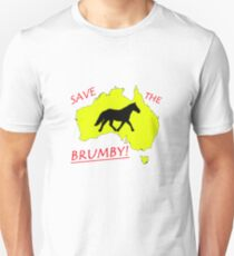 Save The Brumby  Unisex T-Shirt