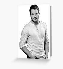 Chris Pratt Grußkarte