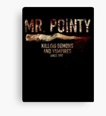 Mr. Pointy Canvas Print
