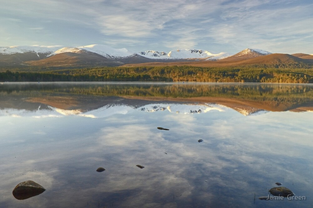 Cairngorm Reflections by Jamie  Green