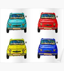 Vintage compact cars #2 Poster