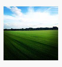 Green field Photographic Print