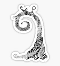 Ancient Lizard Tree T-shirt Sticker