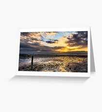 Oyster Faming Greeting Card