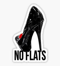 Drag - No Flats Sticker