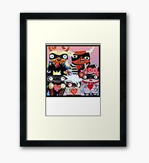 Artist Monsters Framed Print