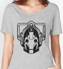 Cyberman (black) Women's Relaxed Fit T-Shirt