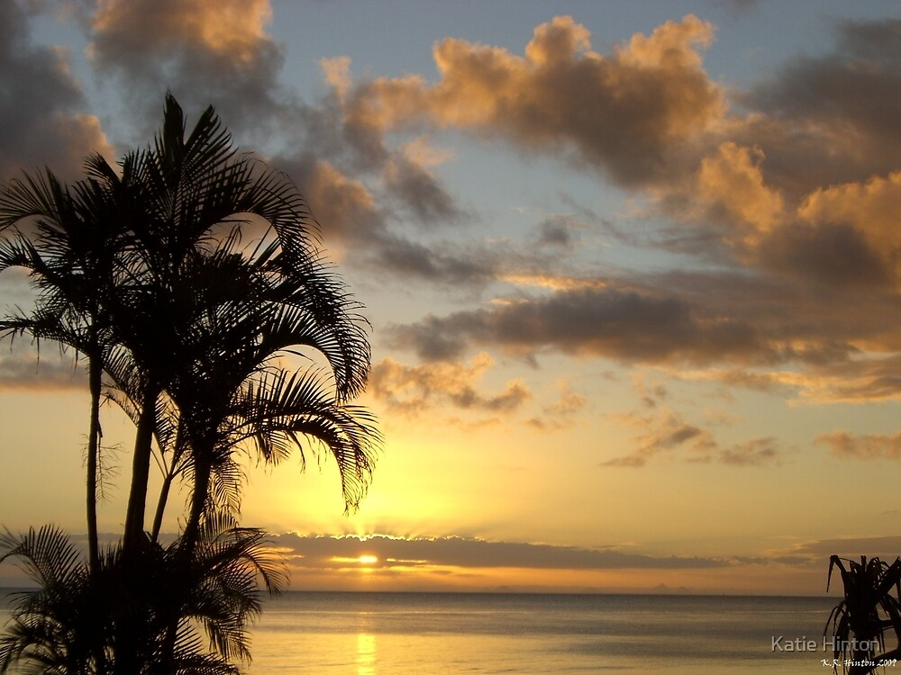 Tangalooma Sunset by Katie Hinton
