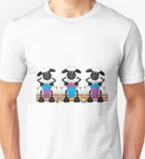 A Knitting Competition For Ewe Unisex T-Shirt