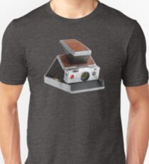 Retro Polaroid SX-70 Camera Polygon Art Unisex T-Shirt