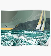 Corryvreckan whirlpool, The Isle of Jura Poster