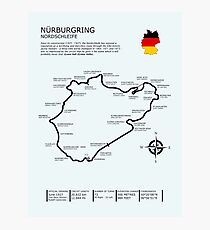 The Nurburgring - Nordschleife Photographic Print