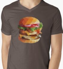 Gourmet Burger Polygon Art T-Shirt