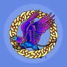Blue Griffon by Rose Gerard