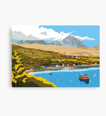 Craighouse, The Isle of Jura Canvas Print