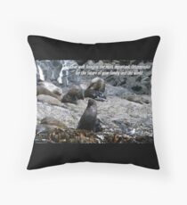 Well-being Throw Pillow