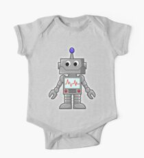 ROBOT, Cartoon, Smiley, Robotics, Toon, Kids Clothes